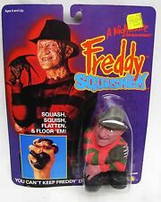 FREDDY KRUEGER LJN VINTAGE NIGHTMARE ON ELM STREET SQUISH'EM TOY FIG MOC 1989
