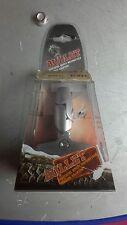 Adaptateur carenage retroviseur gris satin metal BULLET droit ou gauche