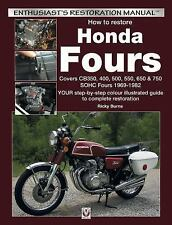 """""""NEW"""" How to Restore Honda Fours : Your Step-by-Step Colour Illustrated Guide"""
