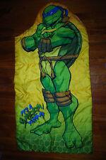 30x54 Vintage Teenage Mutant Ninja Turtle Leonardo Sleeping Bag