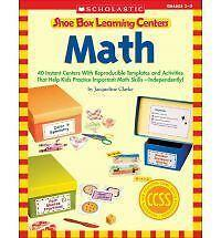 Shoe Box Learning Centers: Math: 40 Instant Centers With Reproducible Templates