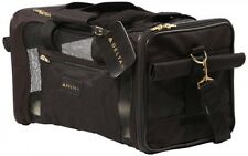 Delta Deluxe Pet Carrier Medium Black, Sherpa 11721, New, Free Shipping