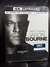 Jason Bourne 4K UHD/Blu-Ray/Digital HD Steelbook Sealed Matt Damon New In Hand