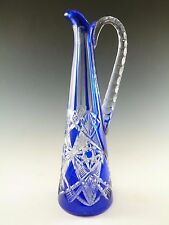 BACCARAT Crystal - Stunning Cut-to-Clear TSAR Claret Jug Decanter - 13""