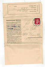 1944 Germany Letter and Cover Mauthausen Concentration Camp KZ Karl Pritz
