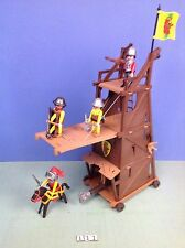 (L11.1) playmobil Tour d'assault bélier, chateau  ref 3887 3666 3268