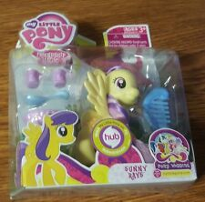 My Little Pony: Friendship is Magic G4 Sunny Rays Wedding Wave NIB Without DVD