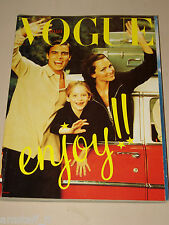VOGUE MAGAZINE ITALIA=1997 OCTOBER=the good life by Steven Meisel=ENJOY!