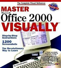 Master Microsoft Office 2000 Visually IDG Books EXCELLENT SEALED CD INCLUDED