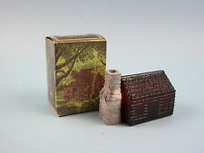 Avon Homestead Decanter Wild Country After Shave Bottle and Box Only Vintage