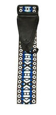 "Sale NEW BLUE ONYX 2"" inch NYLON GUITAR STRAP  ACOUSTIC ELECTRIC BASS ETC"