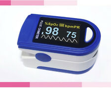 KERNMED OLED Finger Pulsoximeter 500 C blau + Alarm + Pulston Oxymeter