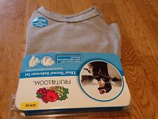 """NEW! """"FRUIT OF THE LOOM"""" BOY'S GRAY THERMAL UNDERWEAR SET SIZE M (8)"""