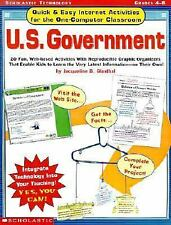 Quick & Easy Internet Activities for the One-Computer Classroom: U.S. Government