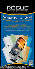 Rogue Gel Filter Kit-  Color Correction + Universal Set Bundle-  Worldwide Ship