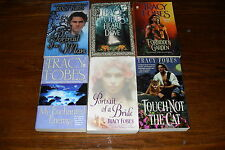 Nice lot of  Romance Novels TRACY FOBES Free s/h in Canada