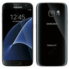 Brand New Samsung Galaxy S7 Black Lte 32GB Unlocked Smart Phone-1Year Wty.
