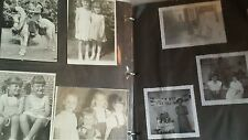 Vintage 1950s Photo Album 100+ Photos Dance Class Holidays Vacations Family