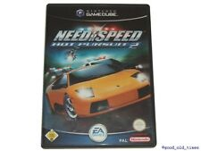 # need for speed hot pursuit 2 allemand Nintendo GAMECUBE JEU // GC & wii #