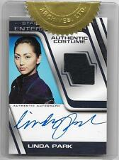 Star Trek Enterprise Season 3 Linda Park Costume Autograph