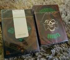 STEAMPUNK BANDITS limite edition numerata playing cards deck bicycle THEORY