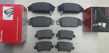 Honda Civic TYPE R FN2 2.0 VTEC 06- Brake Pads Front & Rear Brembo