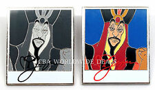 NEW Disney Characters & Cameras Mystery Pins - Jafar w/ Chaser - SET OF 2