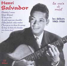 NEW - La Voix de Miel: Les Debuts 1943-1950 by Salvador, Henri