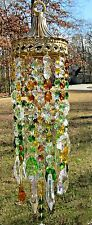 Crystal Wind Chime, Crystal Sun Catcher, Glass Wind Chime, Garden Décor, SC 413