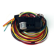 10 Circuit Basic Wire Harness Fuse Box street hot rat rod wiring car truck 12V