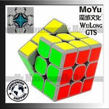 MoYu 3 layers WeiLong GTS Speed Cube Grey | VIDEO INSIDE | Wei Long GTS