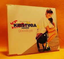MAXI Single CD Kristinia DeBarge Goodbye 2TR 2009 RnB Soul Funk MINT !!!