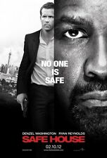Safe House Original Double-Sided Advance Rolled Movie Poster 27x40 NEW 2012