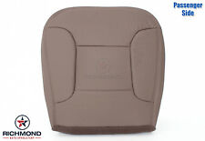 1996 Bronco Eddie Bauer -Passenger Side Bottom PERFORATED Leather Seat Cover Tan