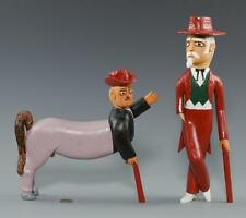 2 Sulton Rogers Carvings, Man and Centaur Lot 652