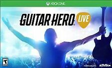 GUITAR HERO LIVE * XBOX ONE * BRAND NEW FACTORY SEALED!