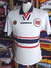Vintage Shirt Norway 1998/00 (M) Away Umbro Jersey Trikot