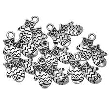 20PCs Christmas X-mas Charm Pendants Gloves Pattern 19mm x14.5mm