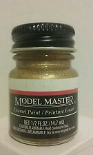 Testors Model Master Enamel paint 1744, Gold 1/2 fl.oz. (14.7ml)