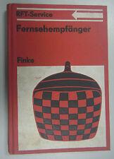 RFT Service Fernsehempfänger /Fachbuch /Lehrbuch /K-H.Finke 1978 incl. Plan