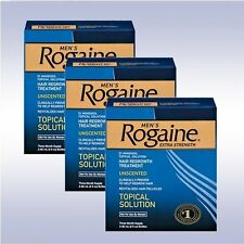 ROGAINE Mens Extra Strength 5% Minoxidil Topical Solution 9 Month Exp. Date 2018