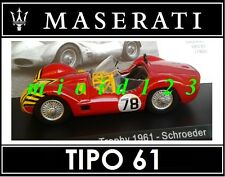 1/43 - Maserati 100 Years Collection : TIPO 61 #68 Nassau Trophy 1956 - Die-cast