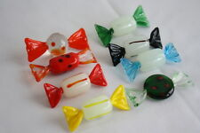 8 Murano Glass Miniature Wrapped Candy Candies