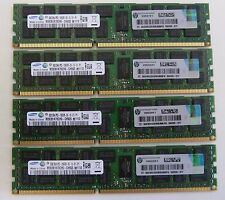 32GB (4x8GB) HP 500205 500662 PC3-10600R ECC DDR3-1333MHz HP DELL IBM Apple