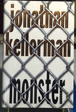 Monster by Jonathan Kellerman  **SIGNED** First Edition 1st/2nd Print