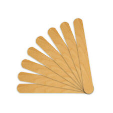 100 Salon Waxing Hair Removal Wooden Spatulas Wax Applicator Wood Eyebrow Bikini