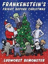 Frankenstein's Fright Before Christmas by Rick Walton (2014, Picture Book)