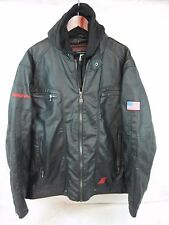 Tool Tech Choko Auth.Apparel Men's Motorcycle Pleather Jacket Black Size XXL