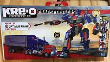 NEW-  KRE-O Transformers OPTIMUS PRIME 542 Pc. Building Set