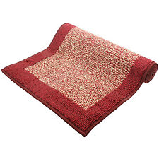 Madras Red Machine Washable Home Entrance Hallway Hard Wearing Carpet Runner New